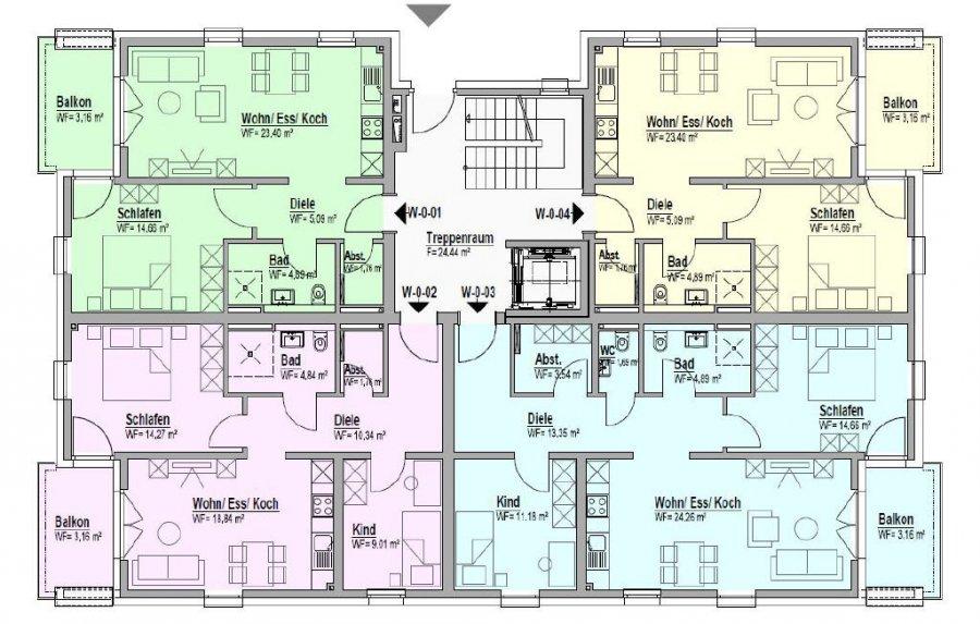 acheter appartement 2 pièces 52.96 m² bitburg photo 3