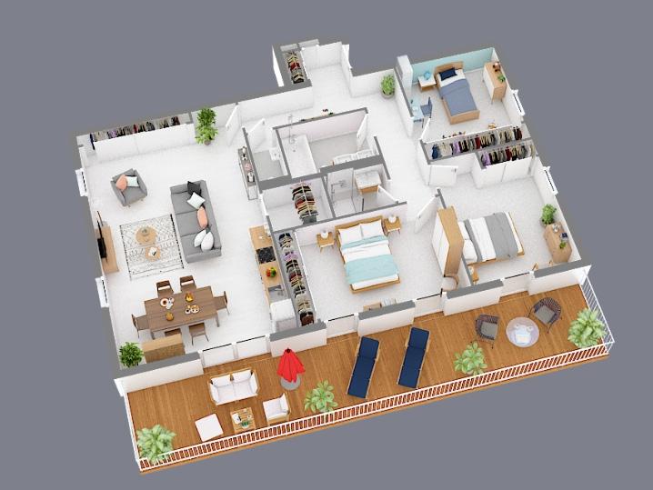 wohnung kaufen 3 schlafzimmer 106 m² hesperange foto 3