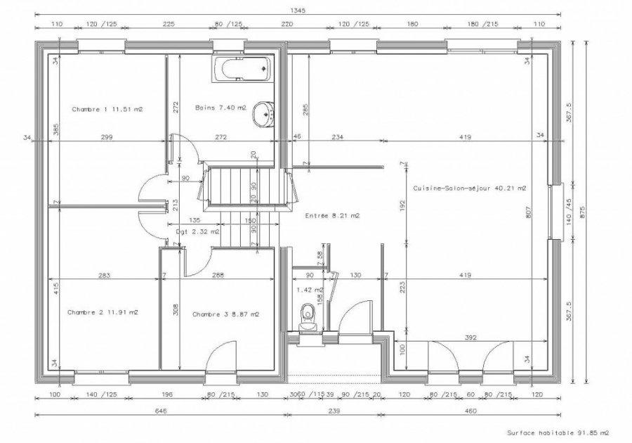 acheter maison 6 pièces 115 m² landres photo 3