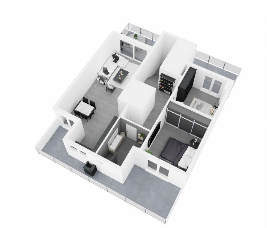 Penthouse à vendre 2 chambres à Kayl
