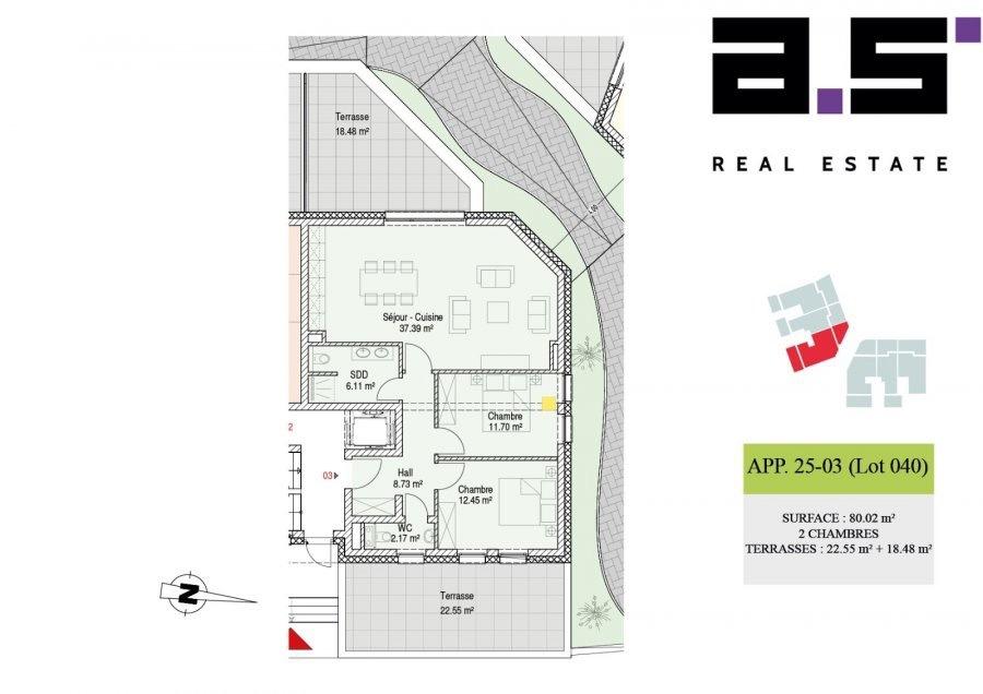 acheter appartement 2 chambres 80.02 m² moutfort photo 2