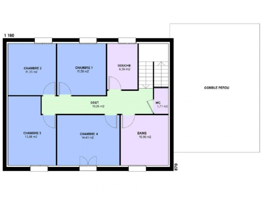 acheter maison 6 pièces 158 m² verny photo 4
