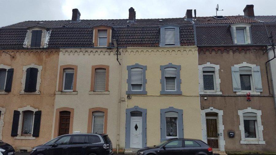 Maison mitoyenne à vendre F6 à Villerupt