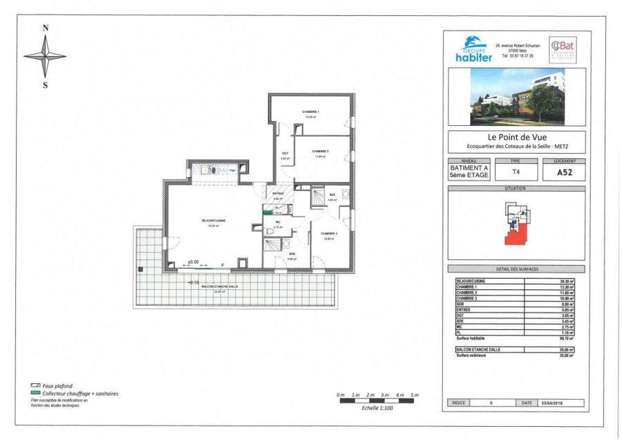 acheter appartement 5 pièces 98 m² metz photo 1