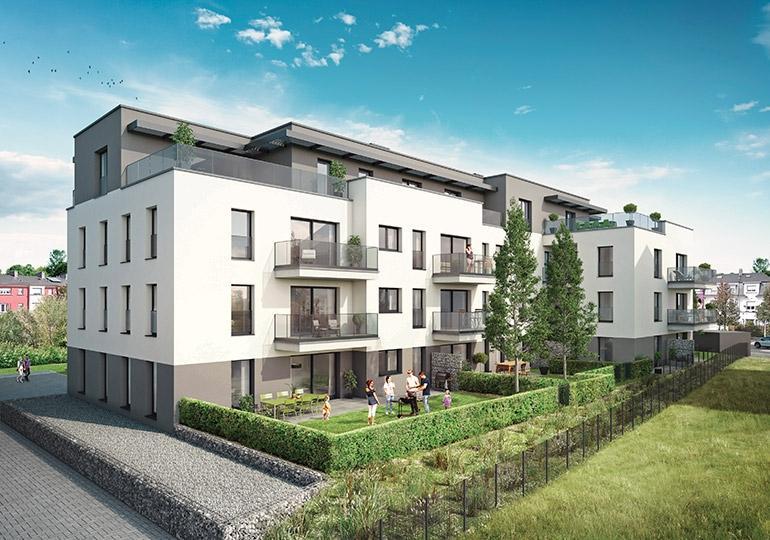 acheter appartement 1 chambre 53.39 m² howald photo 1