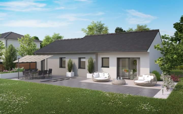acheter maison 4 pièces 90 m² damelevières photo 3