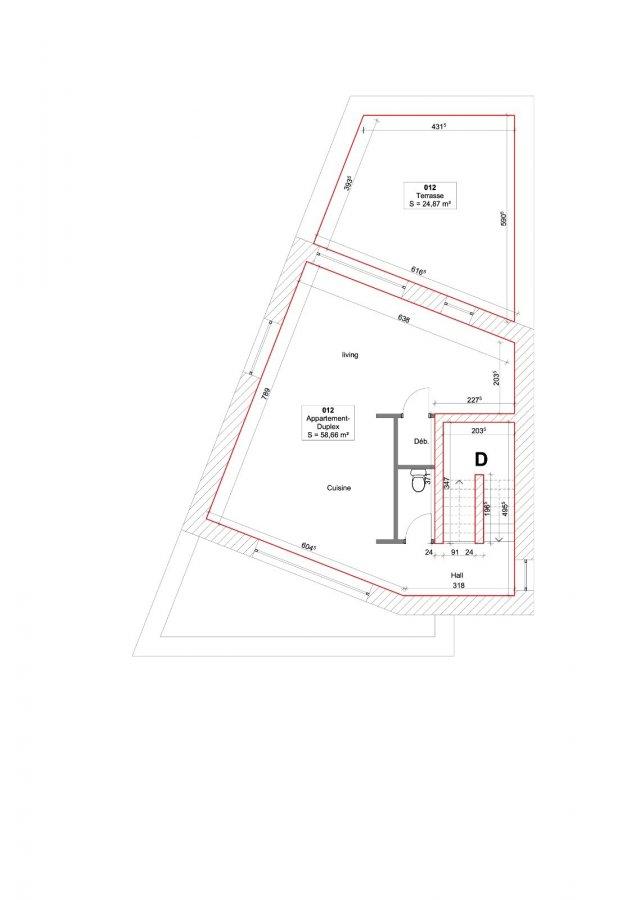 Duplex à vendre 2 chambres à Mondercange