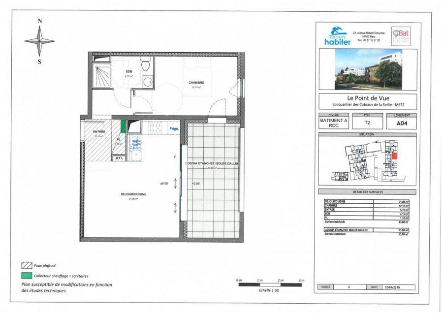 acheter appartement 2 pièces 43 m² metz photo 1