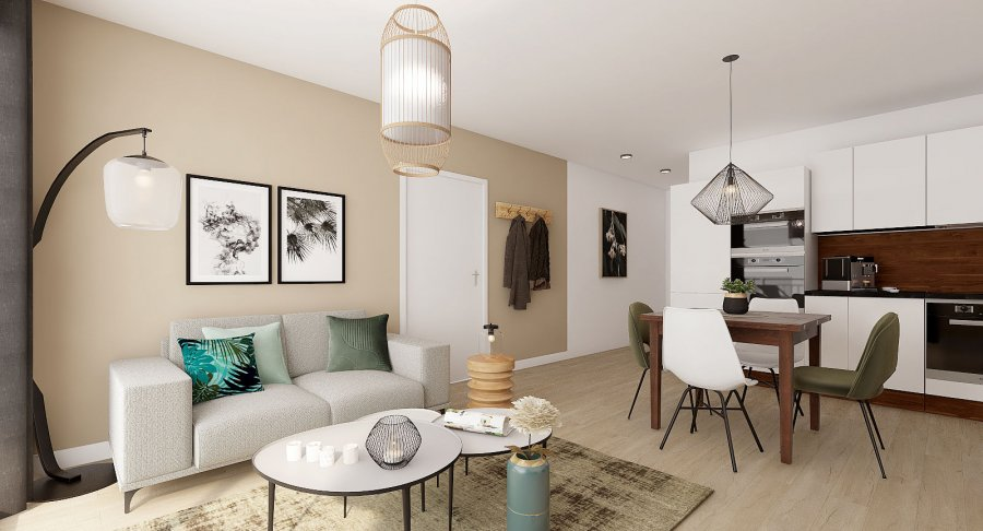acheter appartement 1 chambre 40.96 m² esch-sur-alzette photo 5