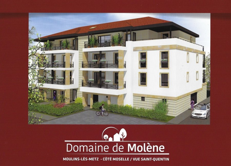 acheter appartement 3 pièces 57.1 m² moulins-lès-metz photo 1
