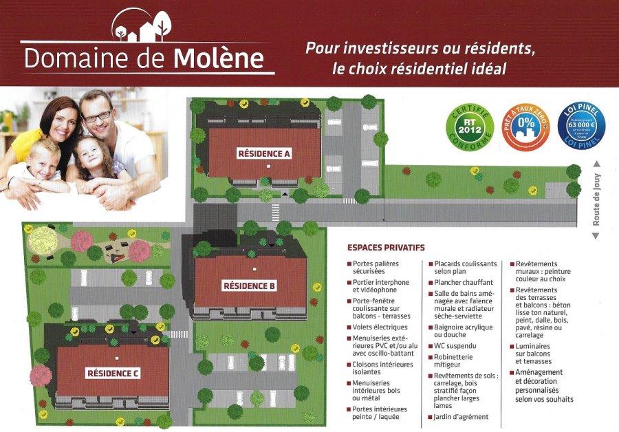 acheter appartement 3 pièces 57.1 m² moulins-lès-metz photo 2