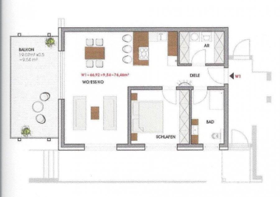 wohnung kaufen 3 zimmer 107.46 m² perl foto 2