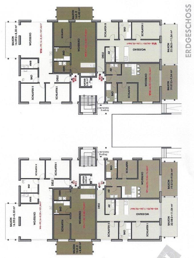wohnung kaufen 3 zimmer 107.46 m² perl foto 3