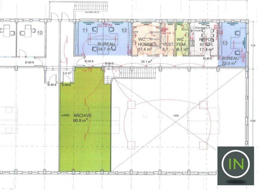 louer entrepôt 0 chambre 1293.3 m² esch-sur-alzette photo 2