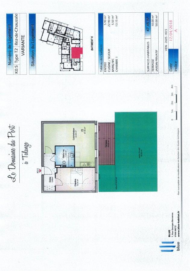 acheter appartement 2 pièces 47.45 m² talange photo 3
