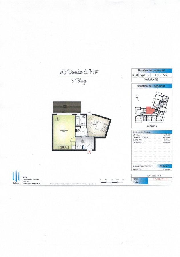 acheter appartement 2 pièces 50.45 m² talange photo 3