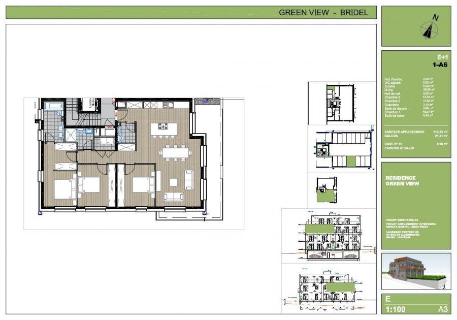 louer appartement 3 chambres 113.53 m² bridel photo 4