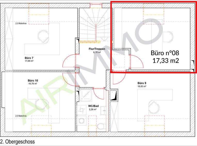 Bureau à louer à Echternach - Réf. 6527034