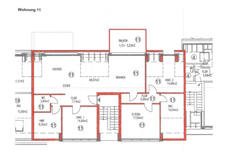 wohnung kaufen 5 zimmer 135.04 m² trier foto 4
