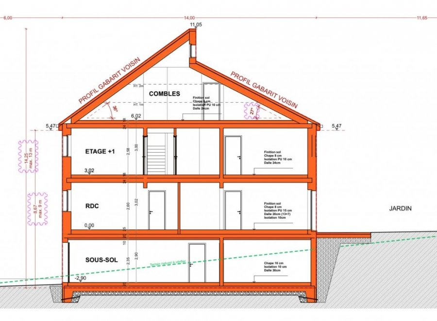 acheter maison individuelle 5 chambres 251 m² baschleiden photo 6