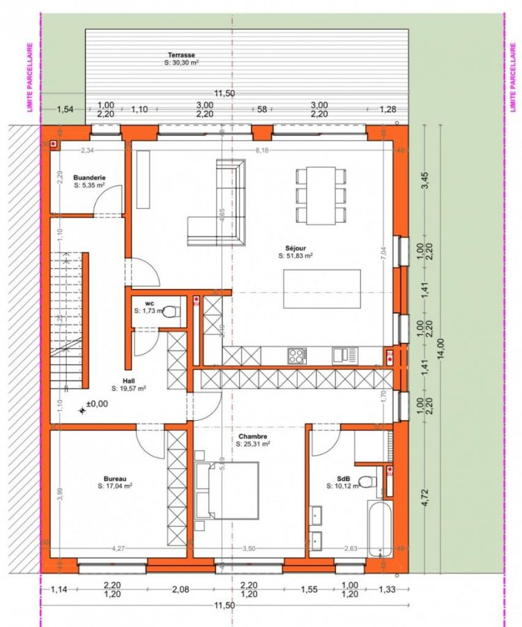 acheter maison individuelle 5 chambres 251 m² baschleiden photo 4