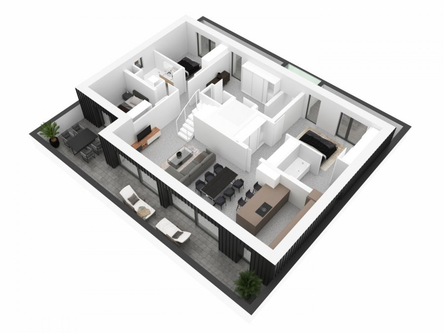 acheter appartement 4 chambres 213 m² junglinster photo 6