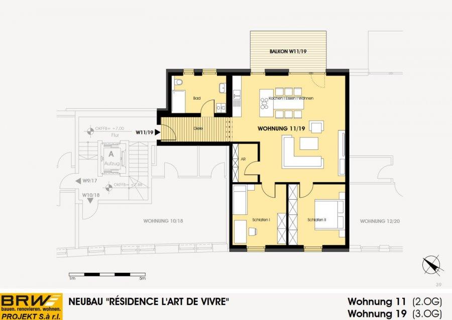 acheter appartement 2 chambres 104.49 m² echternach photo 4