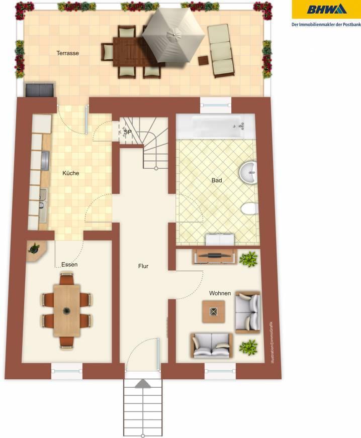 reihenhaus kaufen 8 zimmer 150 m² zemmer foto 6