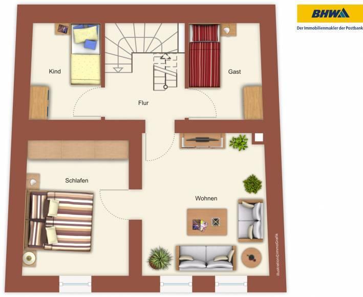 reihenhaus kaufen 8 zimmer 150 m² zemmer foto 7