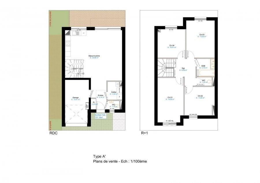 acheter programme neuf 0 pièce 48.1 à 127.1 m² entrange photo 6
