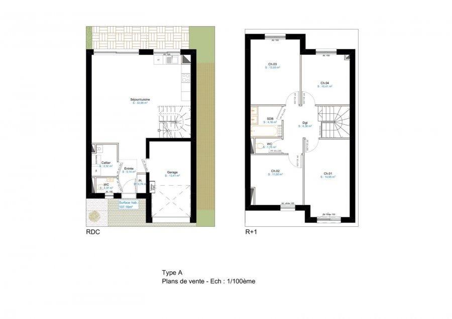 acheter maison 5 pièces 109 m² entrange photo 4