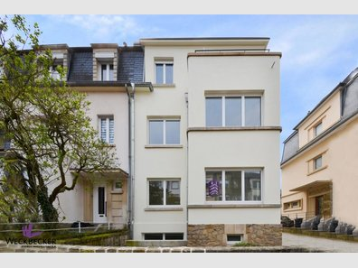 Semi-detached house for sale 4 bedrooms in Luxembourg-Belair - Ref. 6305354