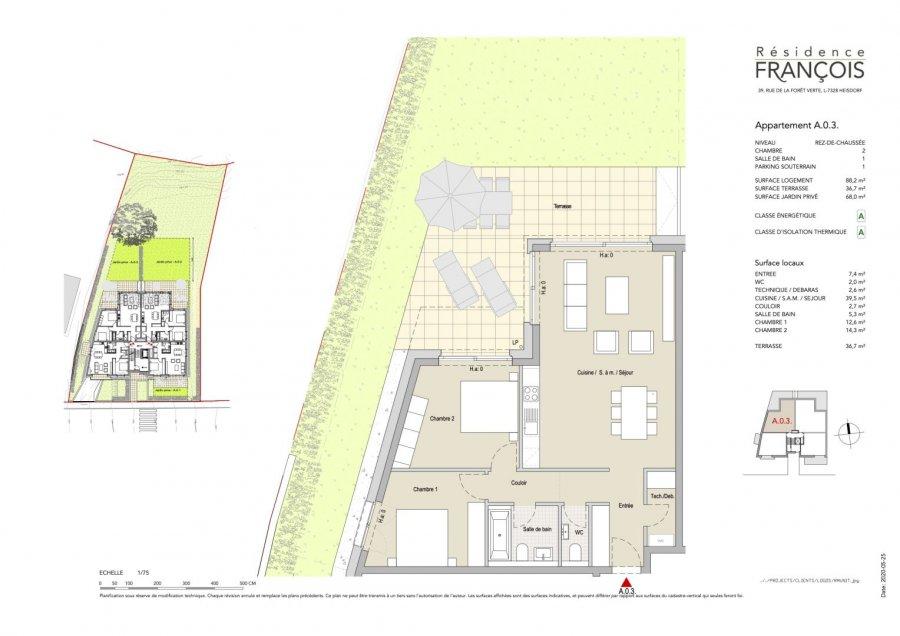 apartment for buy 2 bedrooms 113.8 m² heisdorf photo 7