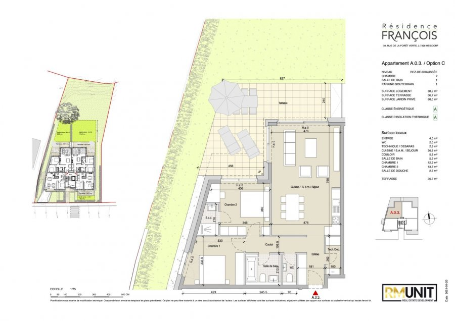 apartment for buy 2 bedrooms 113.8 m² heisdorf photo 5