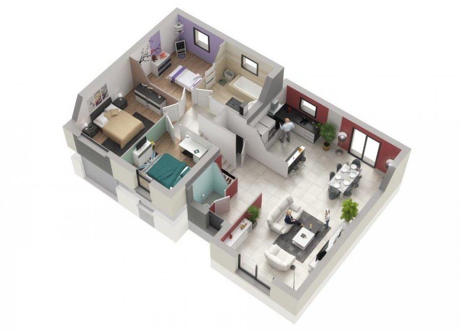 acheter maison 5 pièces 100 m² courcelles-chaussy photo 7