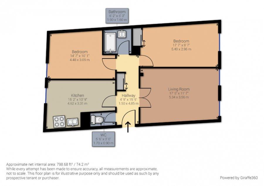 acheter appartement 3 pièces 68.75 m² metz photo 4