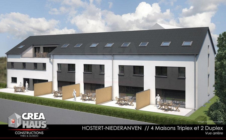 reihenhaus kaufen 4 schlafzimmer 177.33 m² hostert (niederanven) foto 2