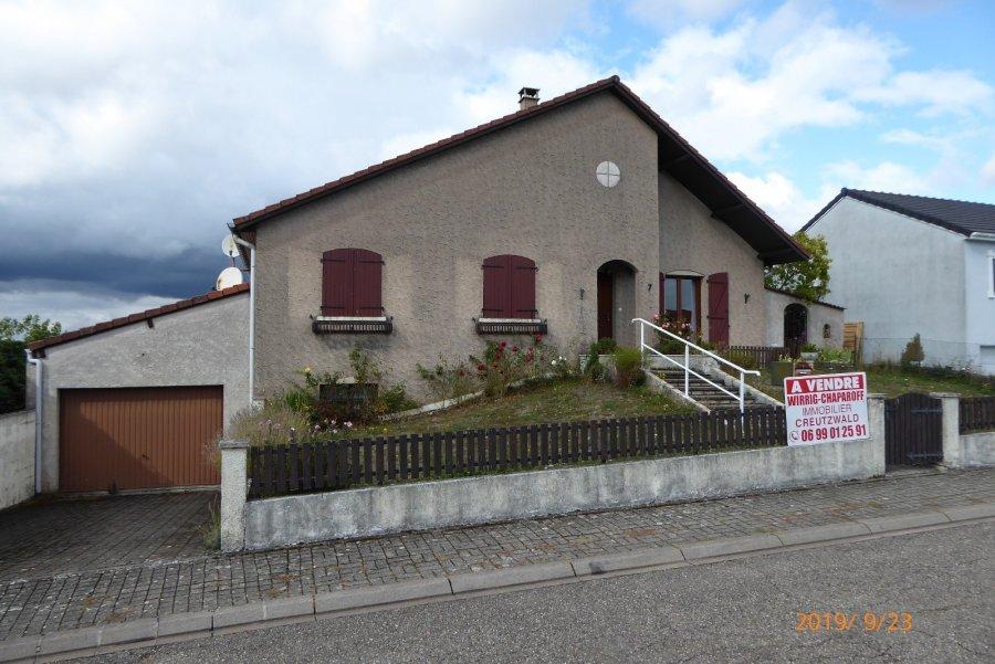 Maison individuelle à vendre F5 à Bouzonville