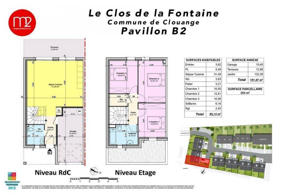 Plan maison f4 plan du0027accs plan maison plan2 for Plan maison type f4