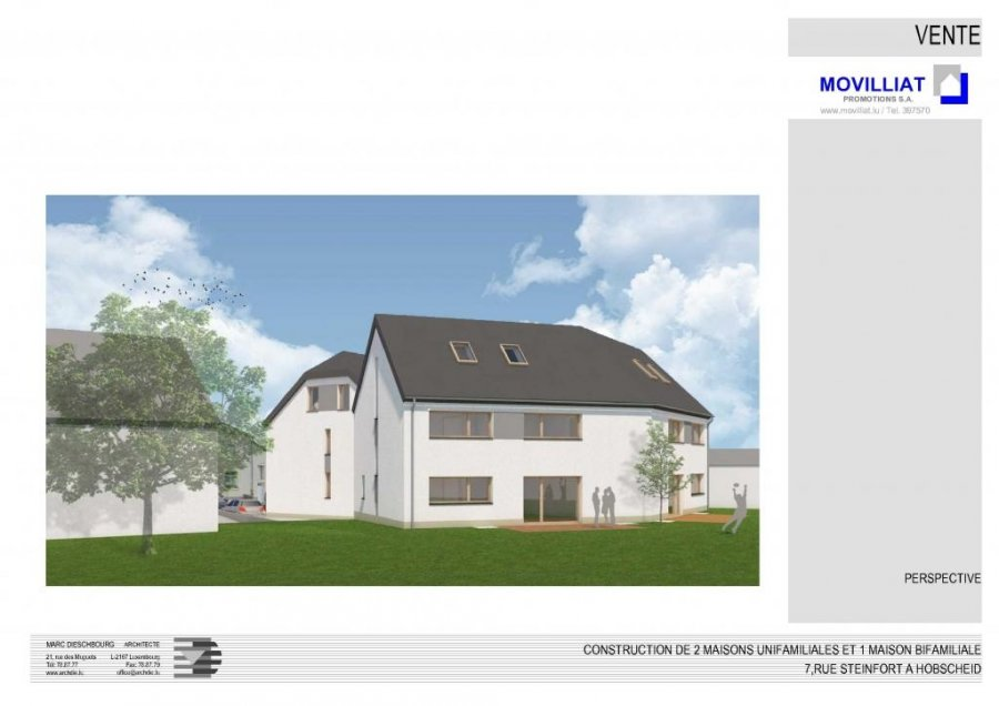 acheter maison mitoyenne 4 chambres 0 m² hobscheid photo 2