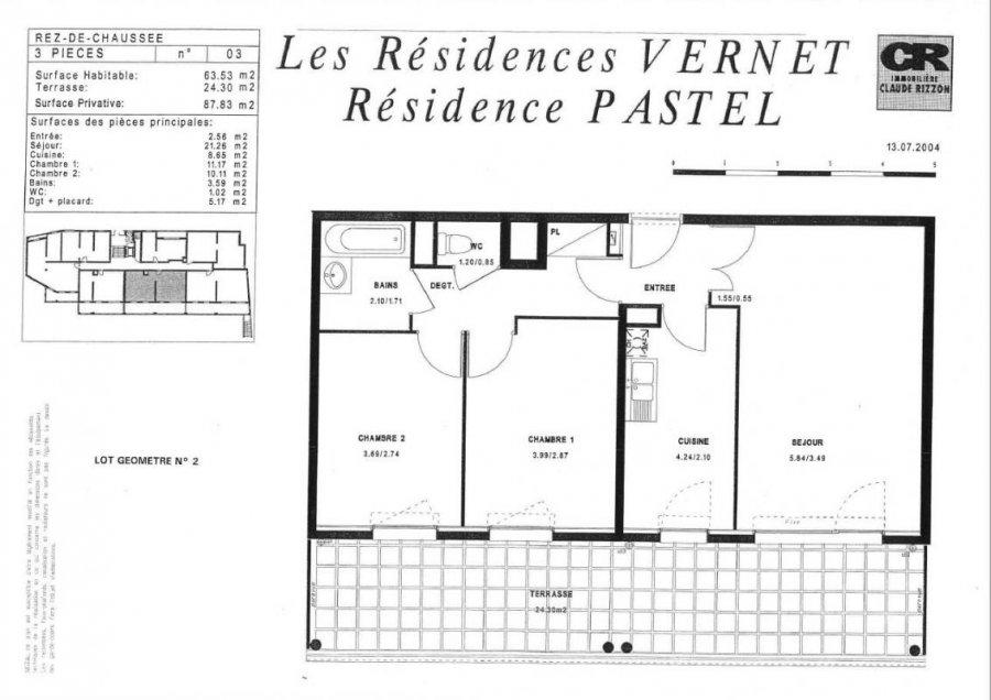 acheter appartement 3 pièces 66 m² metz photo 2