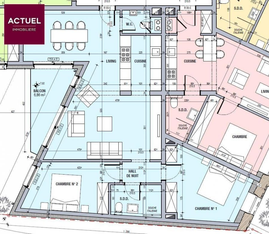 wohnung kaufen 2 schlafzimmer 86.91 m² esch-sur-alzette foto 2