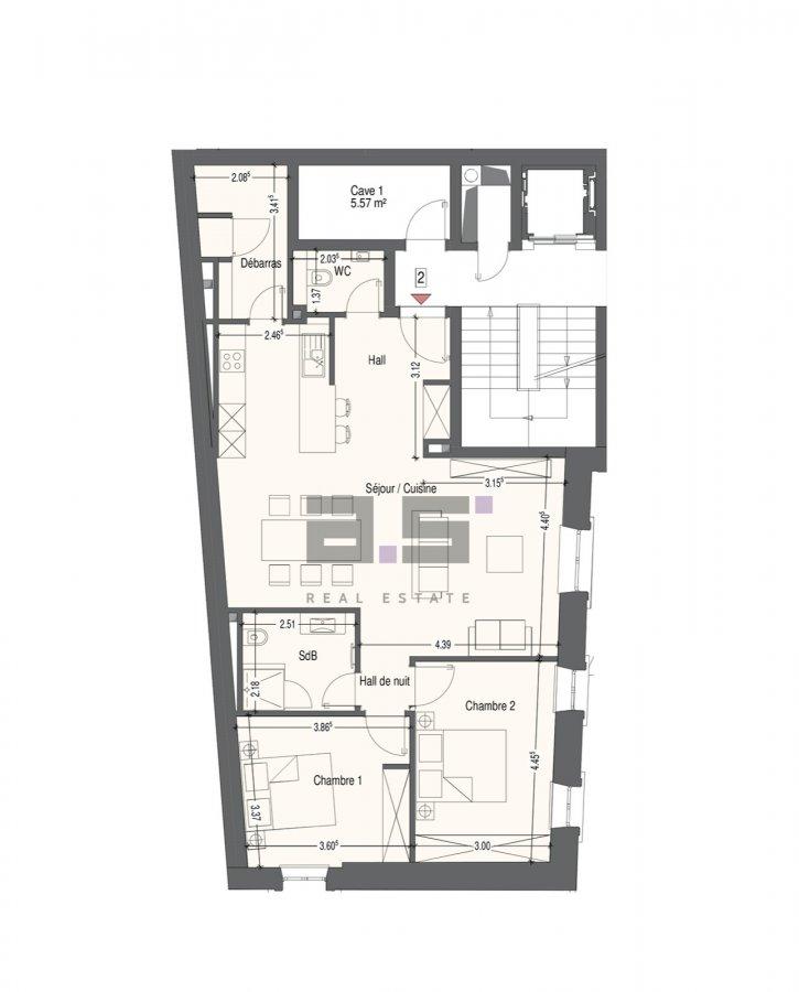 acheter appartement 2 chambres 90.32 m² mondercange photo 6