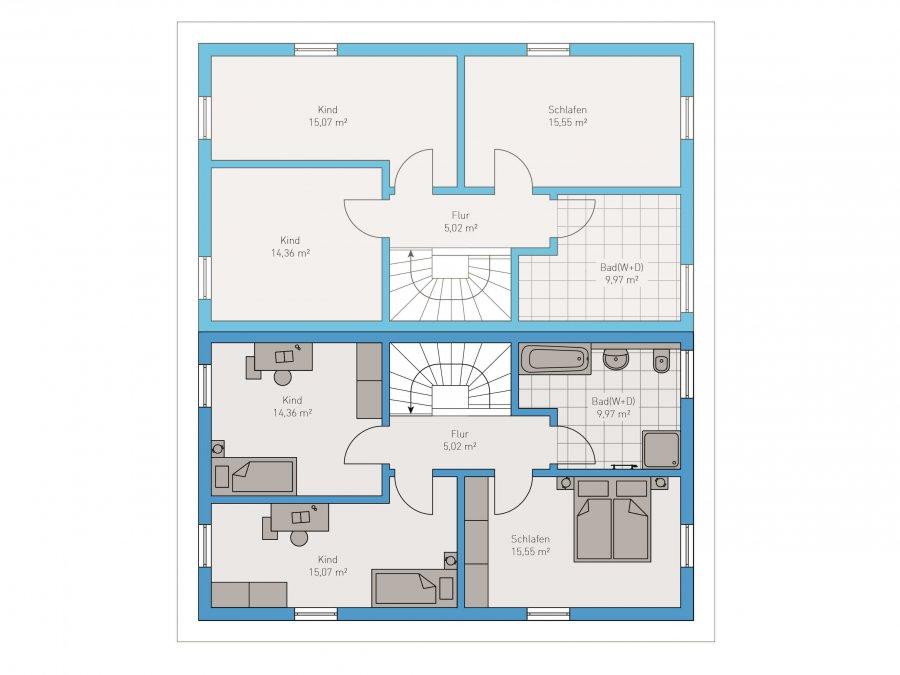 doppelhaushälfte kaufen 4 zimmer 124 m² ockfen foto 3