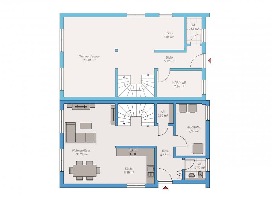 doppelhaushälfte kaufen 4 zimmer 124 m² ockfen foto 2
