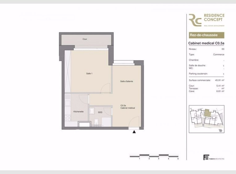 Office for sale in Luxembourg (LU) - Ref. 6353274