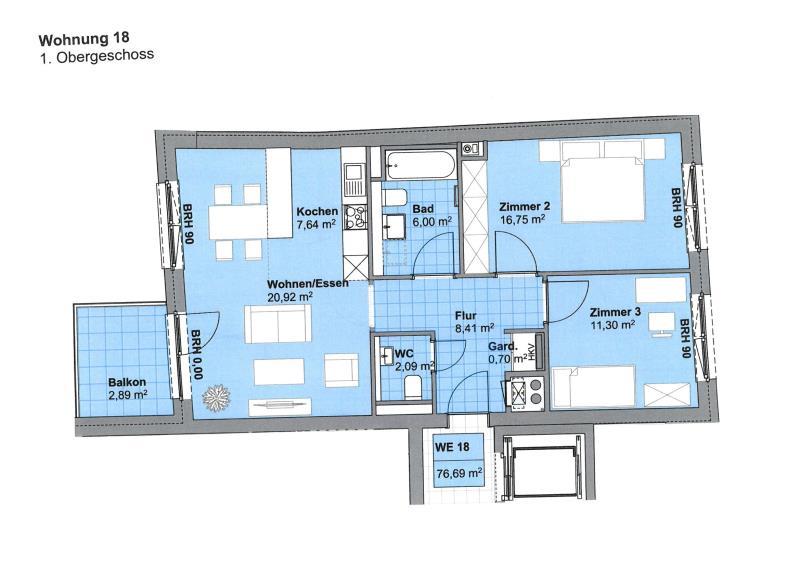wohnung kaufen 3 zimmer 76.3 m² trier foto 2