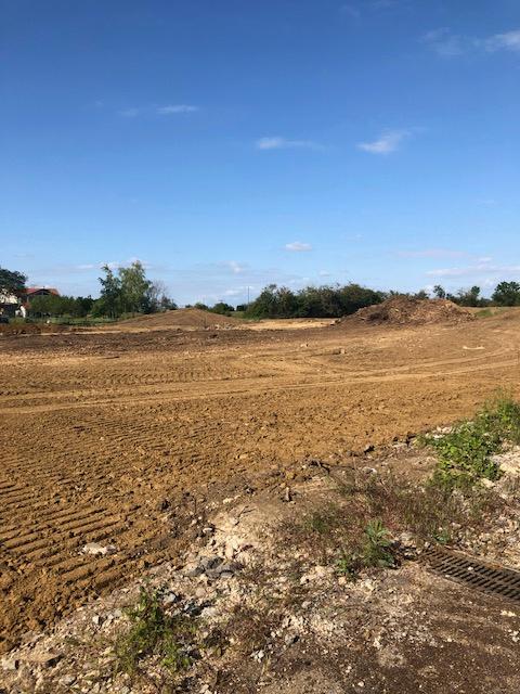 Terrain constructible à vendre à Sanry les vigy