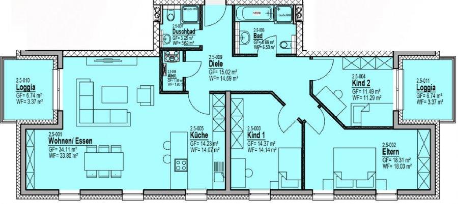 wohnung kaufen bitburg 124 06 m athome. Black Bedroom Furniture Sets. Home Design Ideas