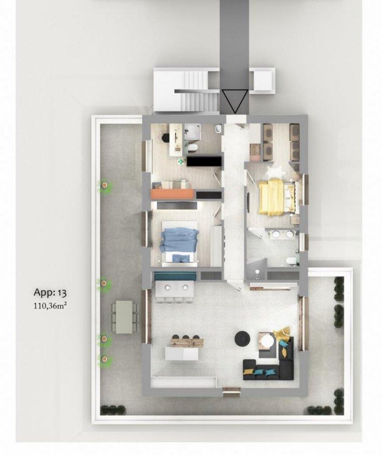 acheter appartement 3 chambres 115.38 m² ettelbruck photo 6